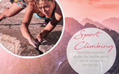 Barvni trendi 2018 - Sport Climbing