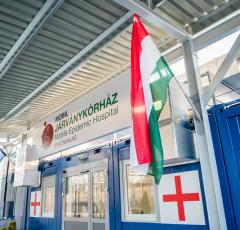 Mobilna bolnišnica - Mobile Epidemic Hospital, na Madžarskem