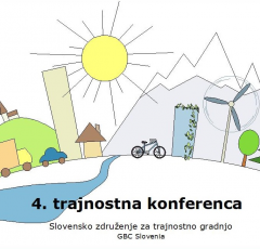 4. trajnostna konferenca GBC Slovenija